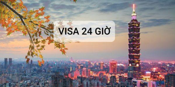 Thủ tục xin visa Đài Loan nhanh chóng uy tín - VISA 24 GIỜ