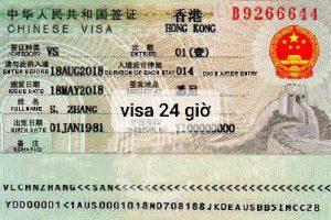 làm visa Hồng Kông nhanh nhất