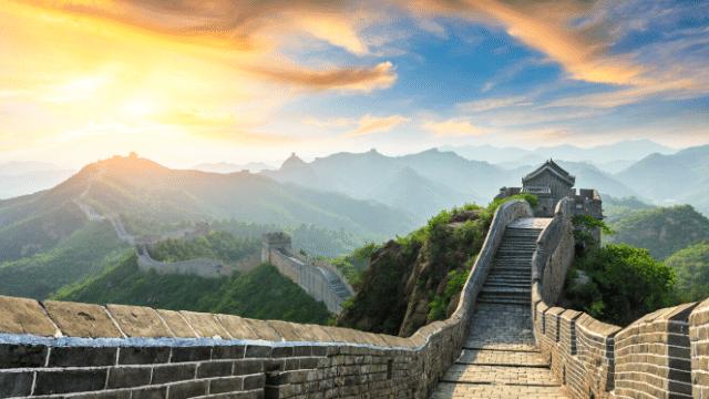 Vạn Lý Trường Thành trong tour du lịch Trung Quốc giá rẻ